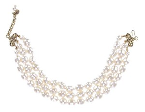 Chanel Chanel Vintage Multi Strand Pearl Necklace