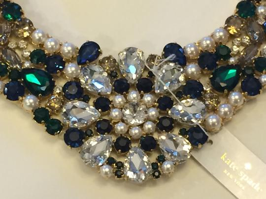 Kate Spade NEW Kate Spade Pearl Mix Premium Bib Necklace NWT Hand-Crafted!
