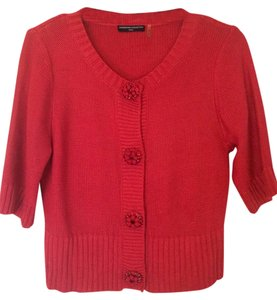 Magaschoni Petite Short Sleeve Sweater