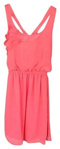 Eyeshadow short dress Coral on Tradesy