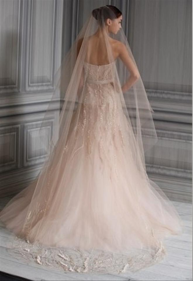 Monique lhuillier candy wedding dress tradesy for Monique lhuillier wedding dress price