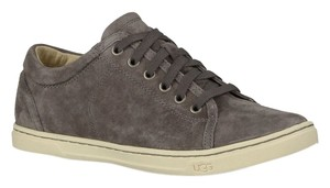 UGG Australia Womens Gifts For Women Tomi Suede Pewter Flats
