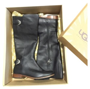 SOLD-UGG Australia Blac Boots