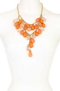 Olivia Welles Olivia Welles Coral Raindrop Necklace