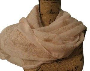 Other NEW NO TAGS CUTE SCARF 60X28 INCHES PINK/TAN
