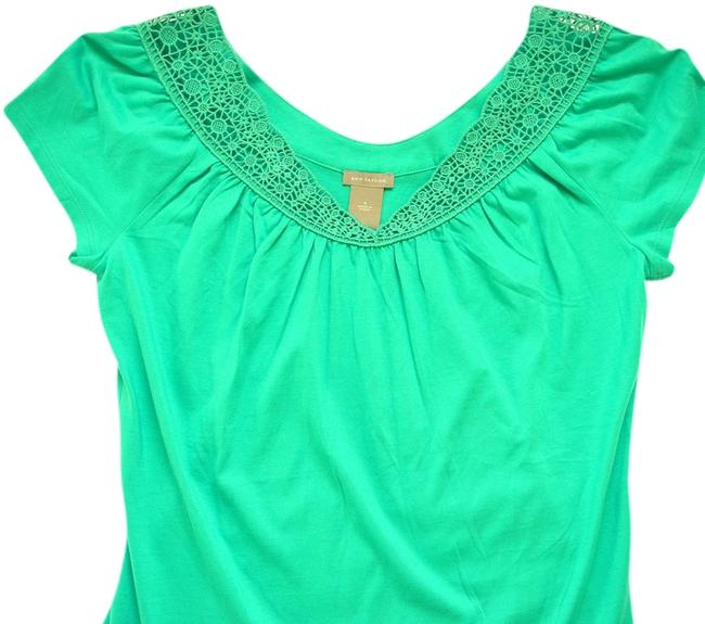 Preload https://item1.tradesy.com/images/ann-taylor-spring-top-turquoise-932040-0-0.jpg?width=400&height=650