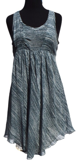 Preload https://item1.tradesy.com/images/isabel-marant-blue-white-mid-length-workoffice-dress-size-2-xs-932075-0-0.jpg?width=400&height=650