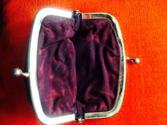 Not Rated Vintage Black Sequence Coin Purse