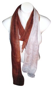 Multi-Color Brown White Solid Pashmina Scarf #102 Shawl Stole Cashmere Silk Blend Risdarling