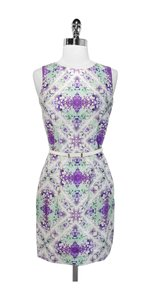 Cynthia Steffe Print Shift Belted Dress