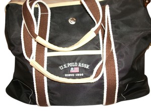 U.S. Polo Assn. Us Assn 1890 black Travel Bag