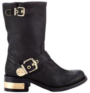 Vince Camuto Moto Boot Black Boots