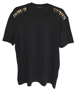 Givenchy Limited Studded Shirt Gucci Giuseppe Zanotti Saintlaurent Givenchy T Shirt Black