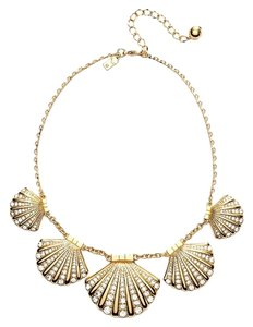 Kate Spade Cruise Ship Winter Getaway Perfect! Kate Spade Shore Thing Clam Necklace! NWT Exquisite Design! Timeless!