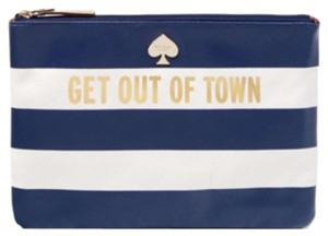 Kate Spade Wristlet in White, Blue