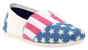 Shoe Boy Red , White & Blue Athletic