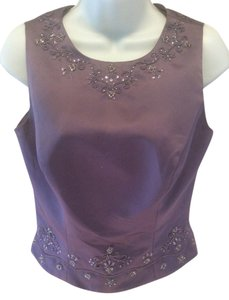 Alexia Designs AFRICAN VIOLET HEATHER Halter Top