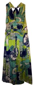 Hale Bob short dress Multicolor (green/blue/white) on Tradesy