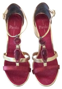 Linea Paolo Red & Gold Formal