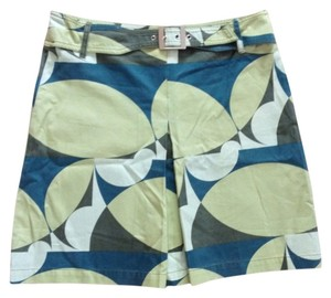 Custo Barcelona Skirt Teal & Beige