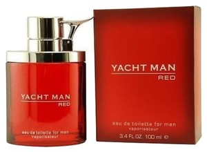 yacht YACHT MAN RED Myrurgla Cologne for Men 3.4 oz NEW IN BOX