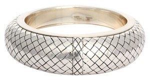 Bottega Veneta Large Sterling Bangle