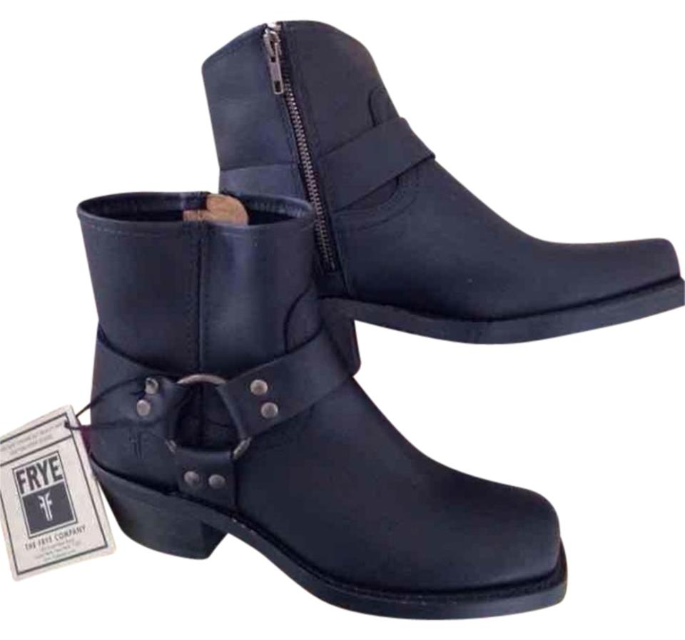 Frye Black Sale New Ankle Boots/Booties Harness Boots/Booties Ankle 54889e