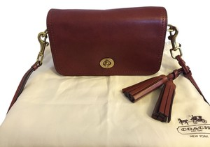 Coach Leather Vintage Classic Cross Body Bag