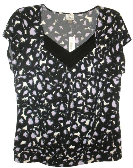 Preload https://item4.tradesy.com/images/worthington-new-blackpurplewhite-print-blouse-size-20-plus-1x-932723-0-0.jpg?width=400&height=650