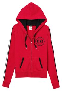 2e71f23c7c171 PINK Red Victoria's Secret Limited Edition Perfect Sweatshirt/Hoodie Size 4  (S)