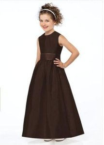 Dessy 4031*.....flower Girl / Special Occasion Dress....brownie.....sz 3