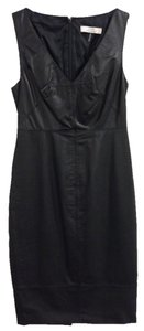 Robert Rodriguez Leather Black; Size 4 Dress