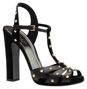 Gucci Strappy Black Pumps