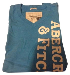 Abercrombie & Fitch A&f Blue Mens Large T Shirt