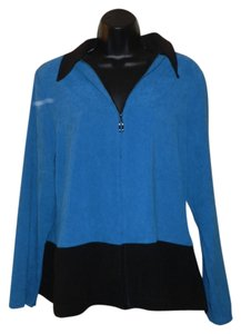Elementz Zipper Top Turquois & Black