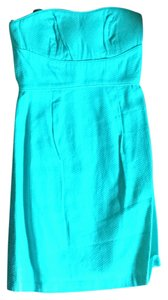 Max and Cleo short dress Low Tide Woven Day Wedding Destination Wedding Turquoise Teal on Tradesy
