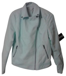 Forever 21 Mint Leather Jacket