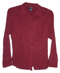 East 5th Essentials Button Down Shirt Burgundy