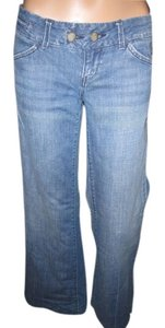 American Eagle Outfitters Good Fit Classic Collectible Now That Aeo Had Taken Over Vintage Boot Cut Jeans-Medium Wash
