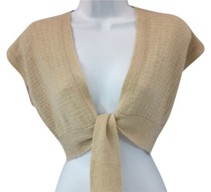 Generra Cashmere Nude Cropped Knit Top