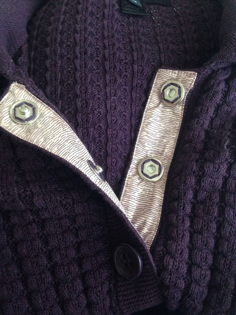 Marc by Marc Jacobs Cotton Blend Sweater Snap Buttons Cardigan