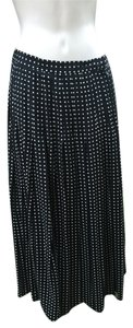 Ann Taylor Skirt Black and white diamon pattern