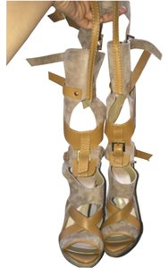 Hervé Leger Light brown Boots