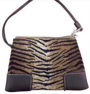 Liz Claiborne Wristlet in Brown