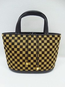 Louis Vuitton Checkered Tote in Brown