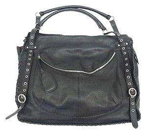 Furla Whipstitch Handbag Tote in Black
