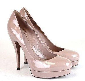Gucci Patent Leather Platform 309995 6812 Pink Pumps