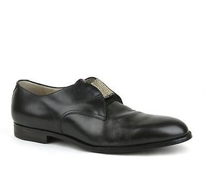 Bottega Veneta Mens Leather Loafer Dress Shoe Black 285648 1000 It 45 / Us 12