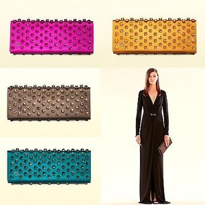 Gucci Broadway Satin Evening Clutch