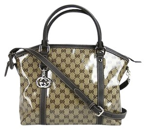 Gucci Crystal Gg Convertible Shoulder Bag